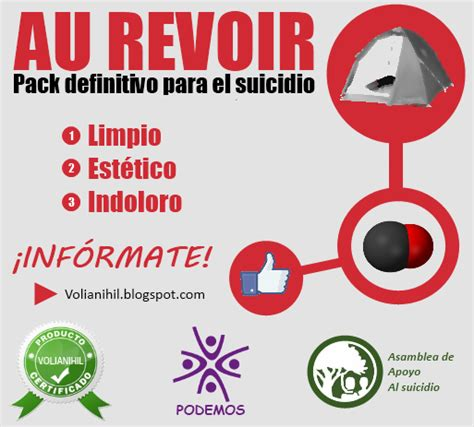 AU REVOIR: pack definitivo para un suicidio limpio ...