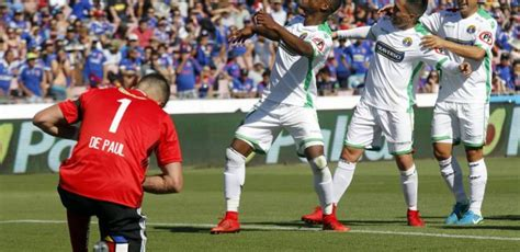 Audax Italiano derrota a Universidad de Chile por 3 0 ...