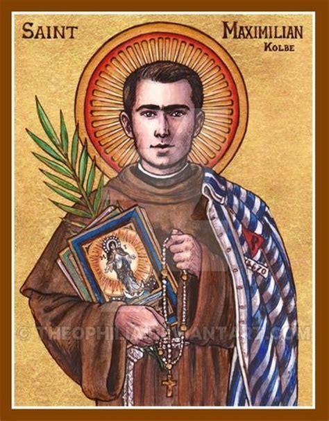 Aug 14 – St Maximilian Kolbe,  1894 1941    ADULT ...