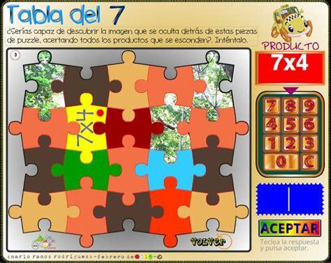 Aula de Elena: Juegos para aprender las tablas de ...