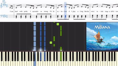 Auli'i Cravalho - How Far I'll Go (from Moana) (Synthesia ...