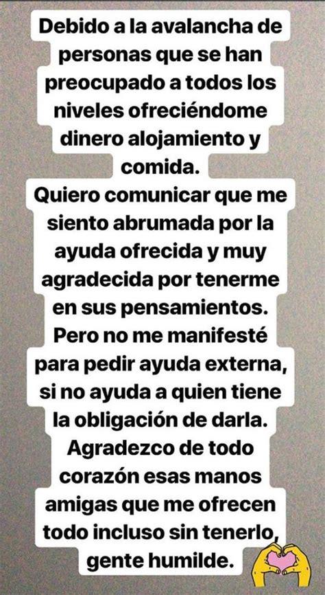 Aurah Ruiz denuncia amenazas para quitarle a su hijo y ...