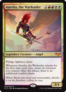 Aurelia, the Warleader - Creature - Cards - MTG Salvation