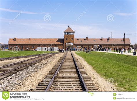 Auschwitz Concentration Camp Editorial Stock Image   Image ...