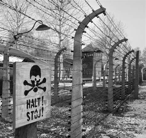 Auschwitz Nazi Concentration Camp - Poland Editorial Image ...