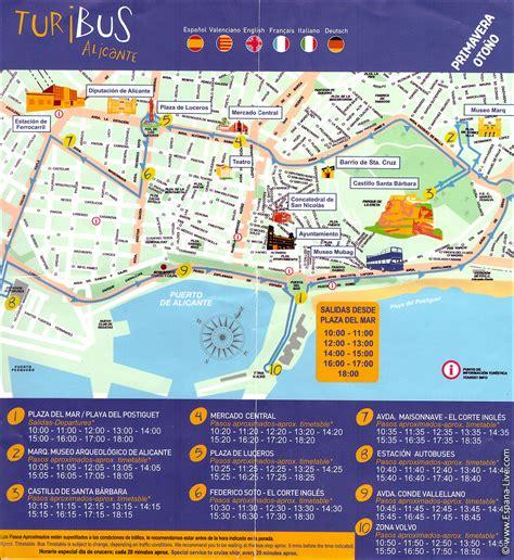 Ausflüge in Spanien, Alicante Attraktionen, Touristenbus
