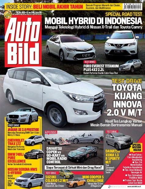Auto Bild Magazine ED 331 January 2016   SCOOP