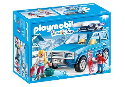 Auto mit Dachbox   9281   PLAYMOBIL® Deutschland