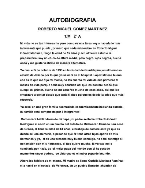 Autobiografia de Miguel (Miki)