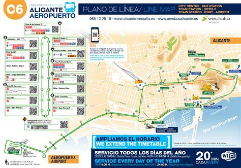 Autobús Aeropuerto | Aerobusalicante | Salidas Alicante ...