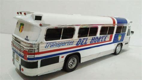 Autobus Dina Olimpico Transportes Del Norte Esc. 1:43 ...
