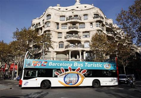Autobús turístico Barcelona   Pase bus turístico Barcelona ...