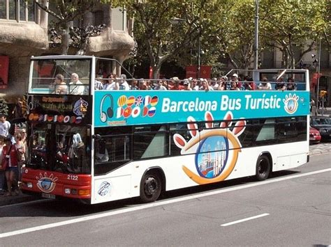 Autobus turistico de Barcelona. Bus turistic. Rutas del ...