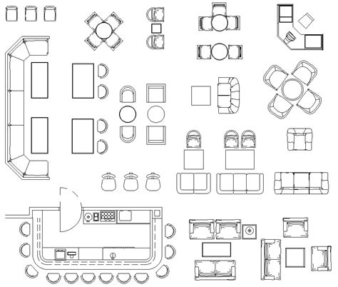 AutoCAD Blocks Free Download For Interior Design