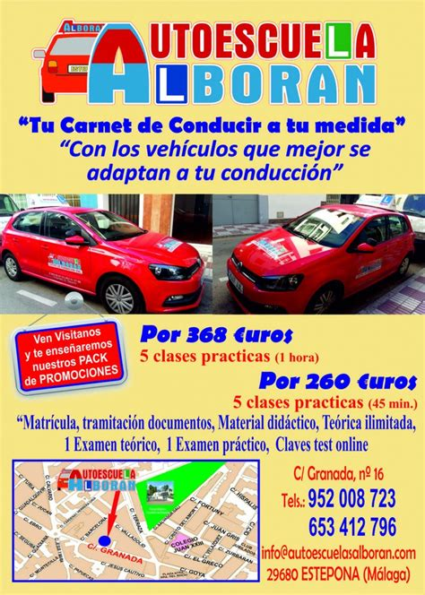Autoescuela Alborán Centro de Formación Vial en Estepona