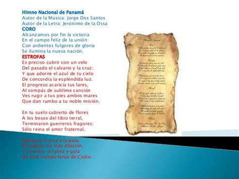 Autores Del Himno Nacional de Panama images