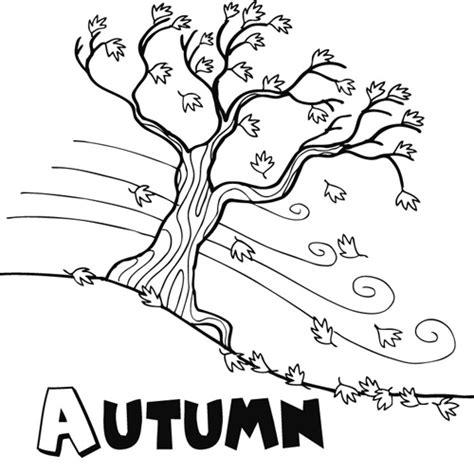 Autumn   Dibujalia   Dibujos para colorear   Estaciones ...