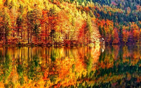 Autumn Landscape 4K Full Hd Desktop Wallpaper - HD Wallpapers