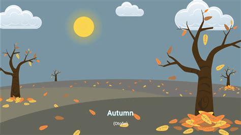 Autumn   Otoño , Estaciones del Año en Ingles para niños ...