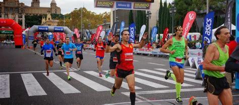 Autumn running races in Barcelona,get in shape!