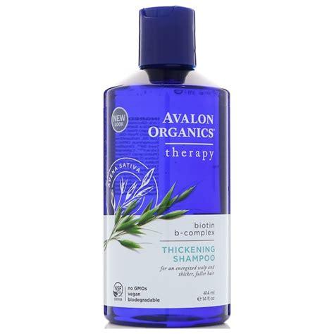 Avalon Organics, Thickening Shampoo, Biotin B-Complex ...