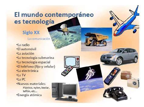 Avances tecnologicos siglo XIX y XXX