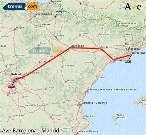 AVE Barcelona Madrid baratos, billetes desde 45,75 ...