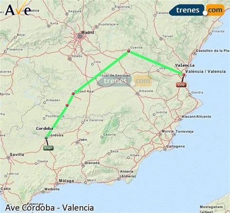 AVE Córdoba Valencia baratos, billetes desde 19,35 ...