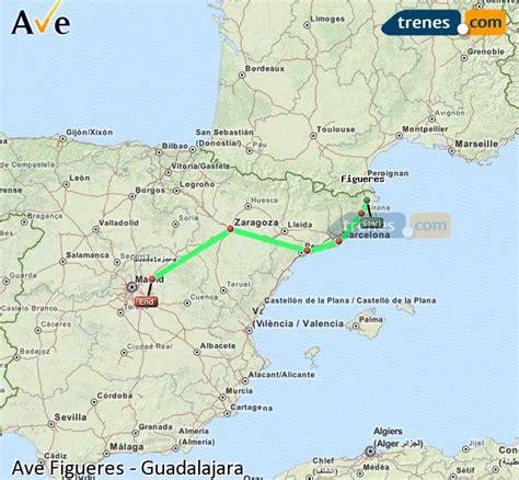 AVE Figueres Guadalajara baratos, billetes desde 65,95 ...