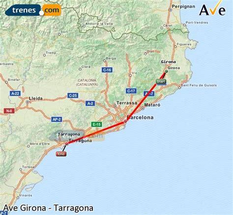 AVE Girona Tarragona baratos, billetes desde 31,35 ...