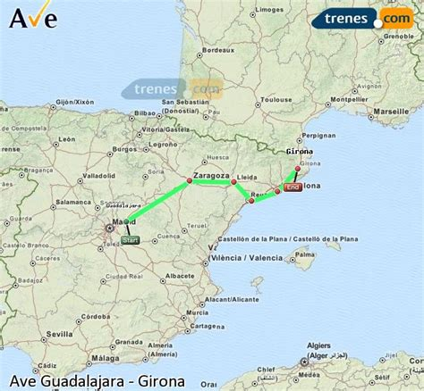 AVE Guadalajara Girona baratos, billetes desde 35,25 ...