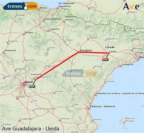AVE Guadalajara Lleida baratos, billetes desde 30,60 ...