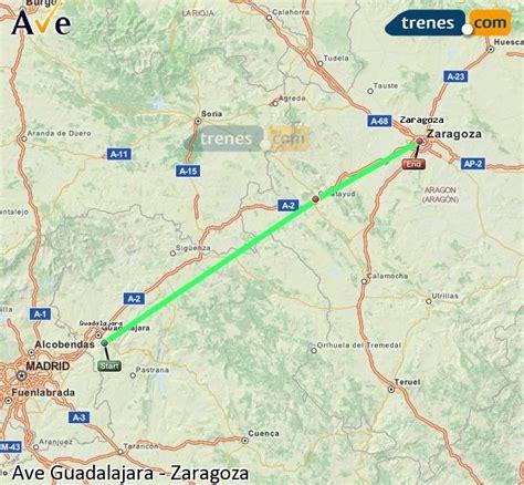 AVE Guadalajara Zaragoza baratos, billetes desde 16,45 ...