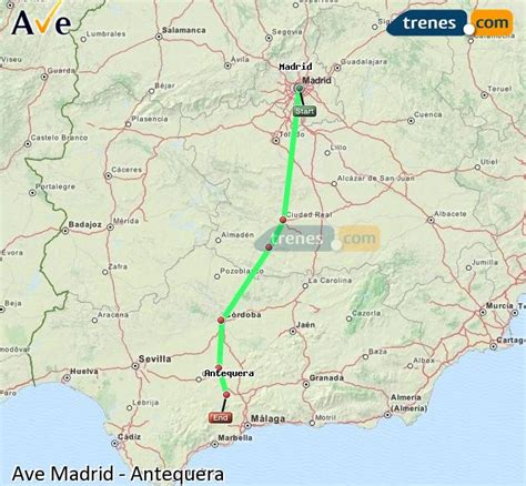 AVE Madrid Antequera baratos, billetes desde 74,60 ...