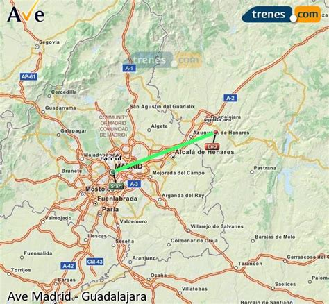 AVE Madrid Guadalajara baratos, billetes desde 10,50 ...