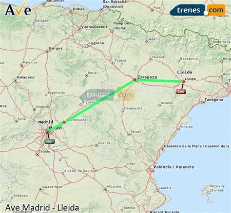 AVE Madrid Lleida baratos, billetes desde 28,05 €   Trenes.com