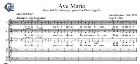Ave Maria (canción mariana a 7 voces) (WAB 6) - Anton ...