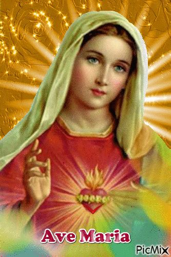 Ave maria | God s Love | Pinterest | Mother mary, Mary and ...