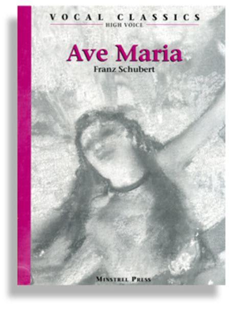 Ave Maria - High Voice * Schubert Sheet Music By Franz ...
