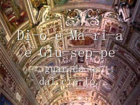 Ave Maria Lyrics Italian - Andrea Bocelli - Ave Maria ...