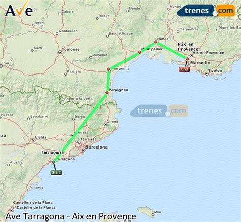 AVE Tarragona Aix en Provence baratos, billetes desde 64 ...