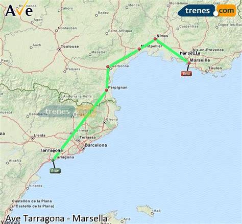 AVE Tarragona Marsella baratos, billetes desde 39,00 ...