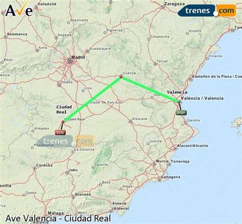 AVE Valencia Ciudad Real baratos, billetes desde 20,00 ...