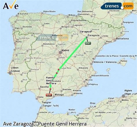 AVE Zaragoza Puente Genil Herrera baratos, billetes desde ...