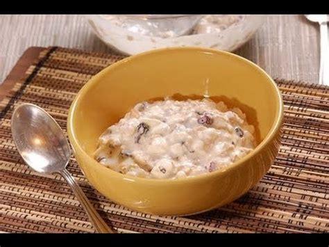 Avena con yogur y frutos secos - Oatmeal and yoghurt with ...