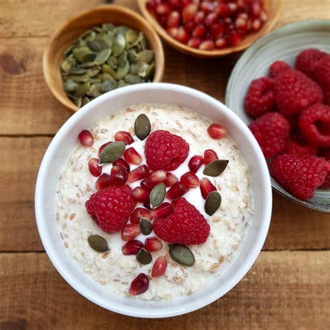 Avena con yogur y semillas (overnight oats) – Ido