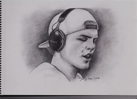 avicii, sketch. | tang lee's art. | Pinterest | Avicii ...