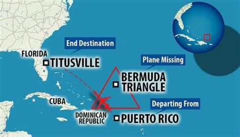 Avión con 4 personas desaparece en el Triángulo de las ...