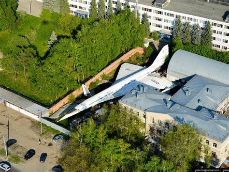 Avión de pasajeros supersónico ruso, {...} Imagen ...
