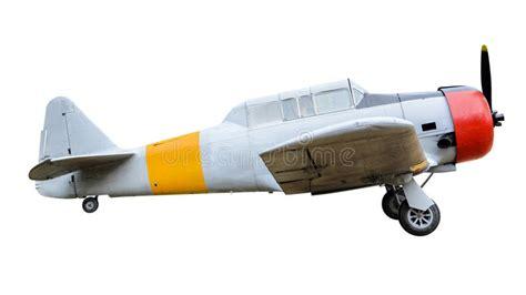 Aviones De Combate Viejos En El Fondo Blanco Foto de ...